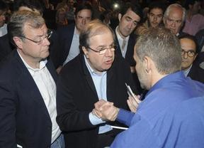 El PP de León da la mano a los mineros, pero no la voz