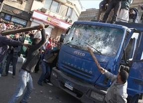 Los disturbios vuelven a la plaza Tahir y la manifestación termina con 81 heridos