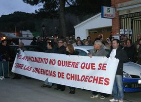 En Chiloeches (Guadalajara) no se resignan: nuevas protestas por el cierre de las urgencias nocturnas
