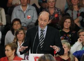 Rubalcaba, como Rajoy entierra el debate sobre ETA en campaña