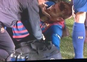 Además del disgusto, el susto: Piqué encendió las alarmas aunque descartan cualquier lesión