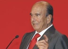 Emilio Botín, entre los diez banqueros más influyentes del mundo