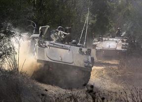 Otros 18.000 palestinos han huido este viernes de sus casas en Gaza ante la incursión de Israel