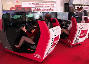 Innovadoras tecnologías de simulación para reducir la siniestralidad laboral en accidentes de tráfico