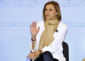 Cospedal muestra su apoyo a Esperanza Aguirre tras filtrarse su declaración de la renta