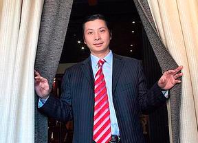 Los tentáculos de Gao Ping llegaron al fútbol: usó el palco VIP para contactar con