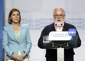 Cospedal destaca que sólo en España y Alemania gana el partido que gobierna