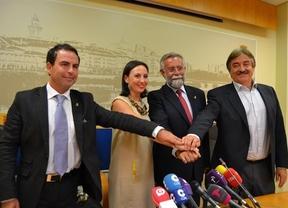 Conciliador Jaime Ramos en su primer acto como alcalde de Talavera de la Reina