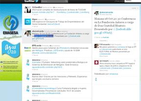 El PSOE denuncia que el PP se publicita a través del 'Twitter' de una empresa pública