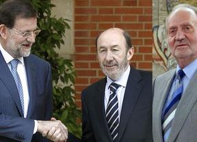 El Rey abronca a los partidos por discutir en plena crisis y llama a luchar