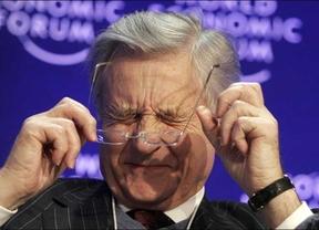 Trichet asegura que no negoció con Zapatero la reforma de la Constitución para limitar el déficit... ¡Sólo la exigió!