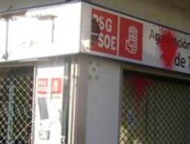 Atacan por cuarta vez la sede del PSdeG en Teo (A Coruña)