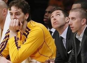 Triste adiós para Pau Gasol en los Lakers: humillante 4-0 de los Spurs en los playoffs