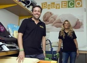 Borja Garay y Blanca Garelly: una solución económica a quien necesita comprar artículos de bebé