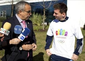 Messi por fin se digna a apoyar a Madrid 2020 pese a sus reticencias iniciales