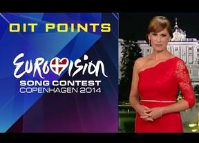 Los 'oight' points de Eurovisión, cosas del directo