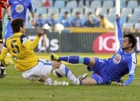 El Getafe rompe el maleficio ante la Real Sociedad y se aferra a la permanencia en primera división (1-0)