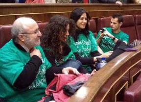 Las 'camisetas verdes' se 'cuelan' en el Congreso durante la jornada de Puertas Abiertas