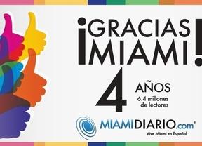 MiamiDiario.com llega a sus cuatro años de existencia