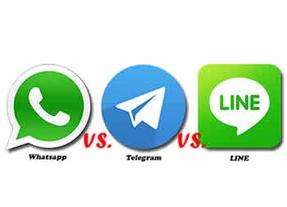 WhatsApp, Line o Telegram, �cu�l es la mejor aplicaci�n de mensajer�a?