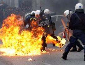 Grecia se paraliza por la octava huelga de sindicatos contra medidas de austeridad