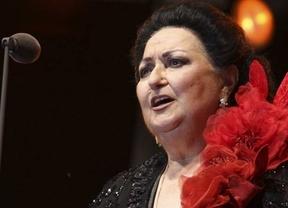 La Caballé, prácticamente recuperada del ictus, participará el domingo en un recital benéfico