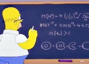 Adelantado a su época: Homer Simpson descubrió el bosón de Higgs más de diez años antes que los científicos