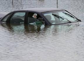 Los conductores afectados por riadas pueden ir al Consorcio de Compensación si el seguro no la cubre