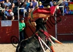 El novillero Carlos Aranda herido con una profunda cornada en Portillo (Toledo)