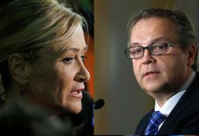 Carmona vs Cifuentes se miden en las tertulias: el debate imposible de dos candidatos fundamentales para el PP y el PSOE el 24M