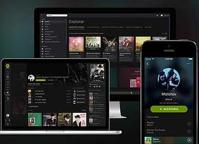 Spotify se viste de negro