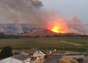 Controlados los incendios de Tortuero y de Tórtola, ambos en Guadalajara