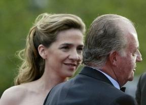 Don Juan Carlos pidió a la infanta Cristina que renunciara a sus derechos dinásticos y la excluyó para Navidad