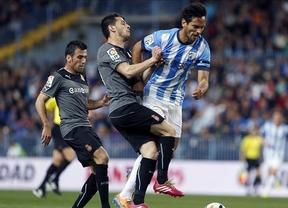 A lo mejor es que no quieren que el Málaga gane esta Liga: los de Schuster caen en La Rosaleda ante el Espanyol (1-2)