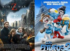 Brad Pitt capitanea con 'Guerra Mundial Z' los estrenos de cine de la semana