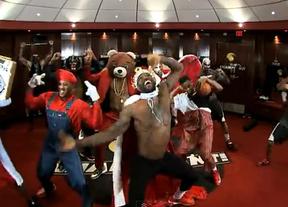 El 'Rey' Lebron James y los Miami Heat se unen a la locura del 'Harlem Shake'