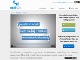 Startup MiniJobs, portal referente de minijobs en España para conectar profesionales y empleo, confía en el talento