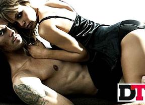 Víctor Valdés y su mujer derrochan sensualidad para 'DT'