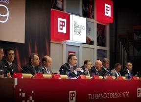 Los tres principales accionistas del Banco Popular, a favor de la fusión