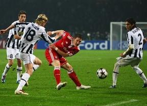 El Bayern se apunta el primer asalto en un duelo estrella ante la Juve (2-0)