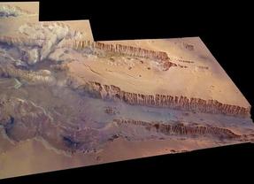El gran cañón no está en Colorado sino en Marte