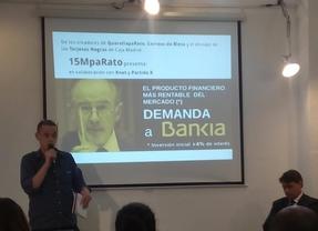 '15MpaRato' y otros colectivos exigen que Bankia devuelva a los preferentistas su dinero más el 4% de interés