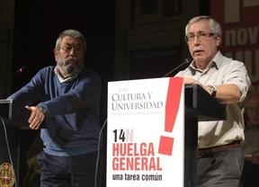 La huelga general tendrá pancarta de 14 metros y un eslogan inglés y alemán
