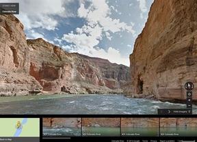 Google Street View hace rafting en el río Colorado para remover conciencias