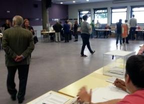 Son datos provisionales pero la participación cae cuatro puntos en Castilla-La Mancha