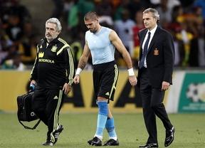 Víctor Valdés no está a punto para las exigencias del Mónaco