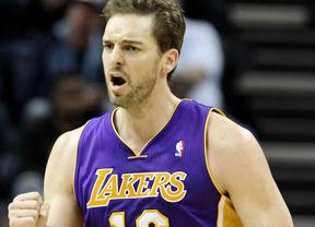 Hasta Pau Gasol y sus decaídos Lakers vencieron en una jornada plena de triunfos de los 'ÑBA' en la NBA