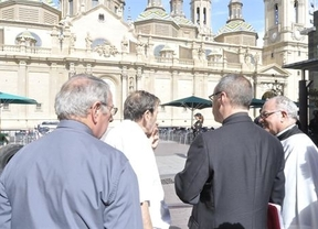 La explosión en la Basílica del Pilar en Zaragoza podría estar vinculada al artefacto de catedral de La Almudena de Madrid