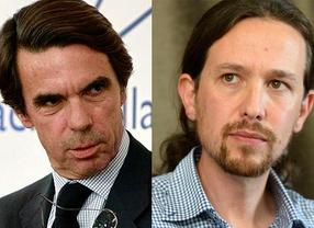 Aznar y Podemos, citados hoy en el juzgado por las supuestas injurias del expresidente