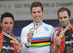 Doblete agridulce: Rui Costa sorprende a 'Purito', plata, y Valverde, bronce en el Mundial